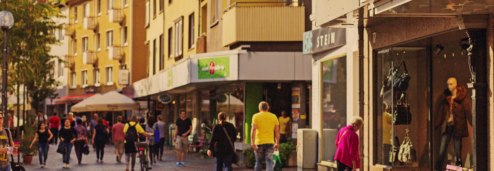 Der Neuenweg in Gießen